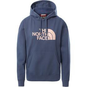 The North Face Light Drew Peak Hoodie Women, vintage indigo/evening sand pink